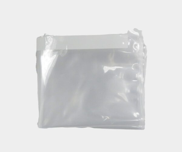 Clear Sterile Portable Ultrasound System Cover Flat Folded
