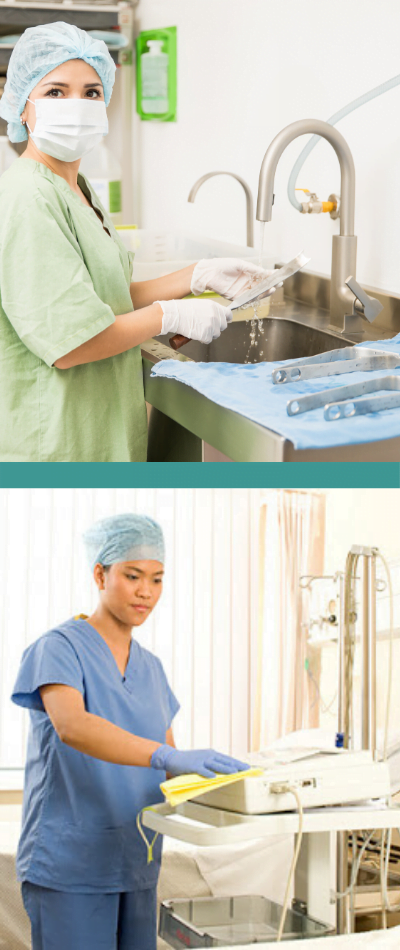 Infection prevention and control - disinfection for hospitals