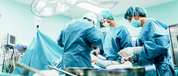 Equipment drapes being used in surgical settings protect patients from infections